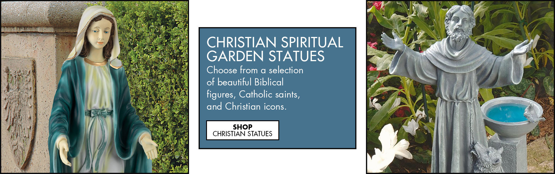 Link to shop Religious Statues for the Garden