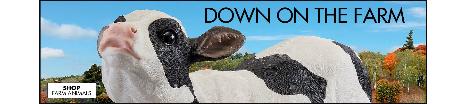 Link to shop Farm Animal Statues - Outdoor Horse & Cow Statues - Design Toscano - Design Toscano
