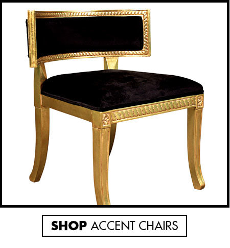 Link to shop Elegant Accent Chairs - Wood Accent Chairs With Arms - Design Toscano