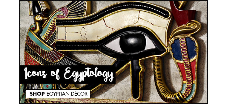 Link to shop Egyptian Statues, Home Accents, Wall Décor & Furniture - Design Toscano
