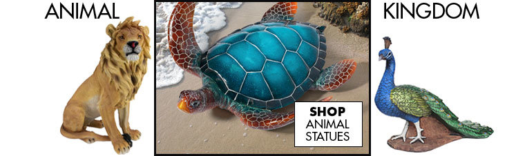 Link to shop Animal Garden Statues - Large & Small Outdoor Animal Statues - Design Toscano