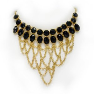 A Night in Paris Necklace and Earrings Ensemble