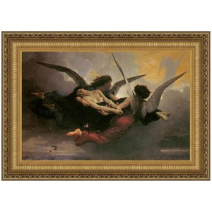 A Soul Brought to Heaven, 1878, Canvas Replica Painting: Large