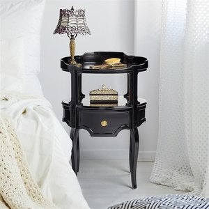 Adoree French 1920s-Style Occasional Side Table: Each