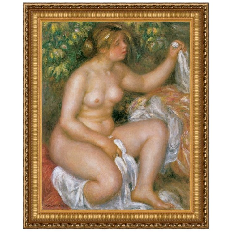 View larger image of After the Bath, 191: Canvas Replica Painting: Medium