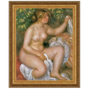 After the Bath, 1910: Canvas Replica Painting: Medium