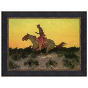 Against Sunset Canvas Painting Small