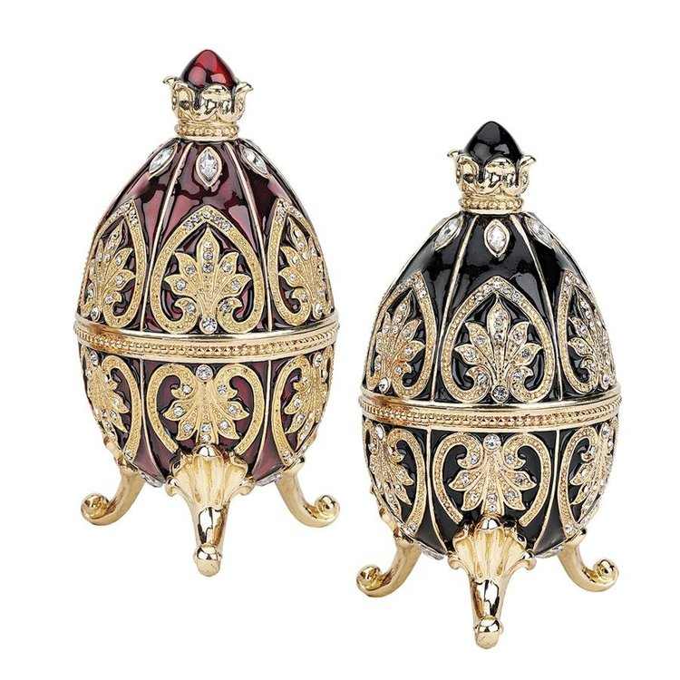 View larger image of Alexander Palace Romanov Enameled Eggs