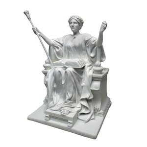 Alma Mater, 1904: Bonded Marble Resin Statue