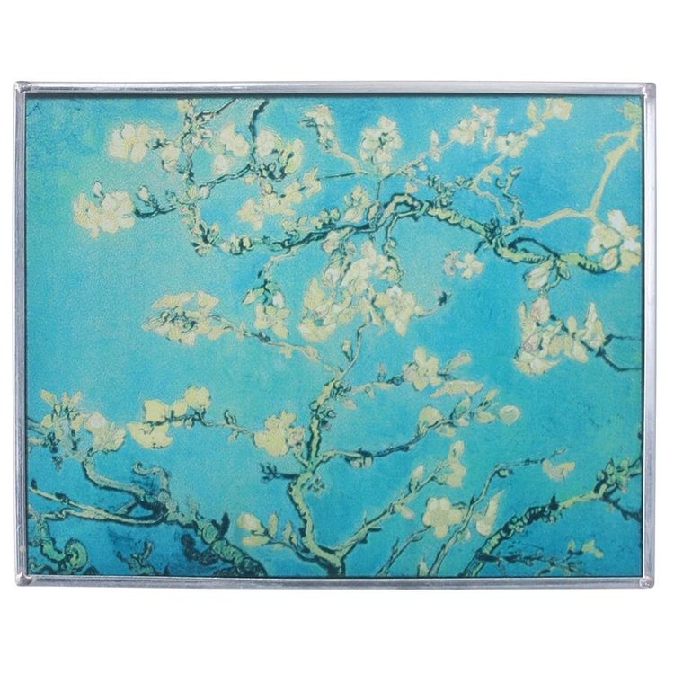 View larger image of Almond Blossoms, 1890 Art Glass
