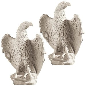America's Eagle Statue: Set of Two