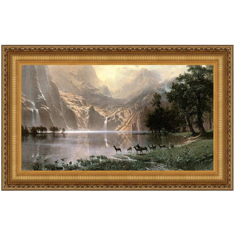 View larger image of Among the Sierra Nevada, 1868: Canvas Replica Painting