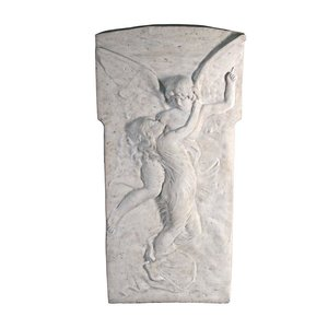 Amour and Psyche Sculptural Wall Frieze