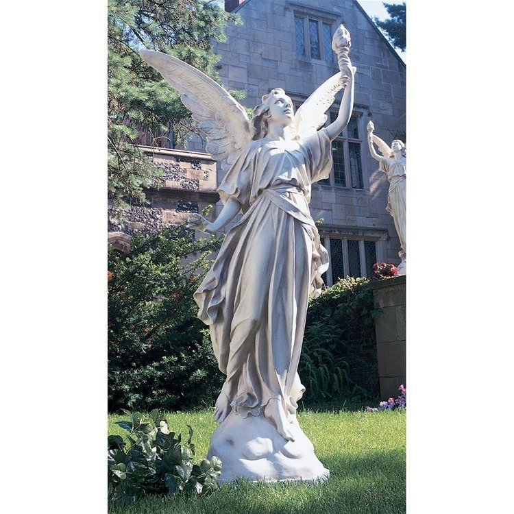View larger image of Angeli di Luce Statue: Left