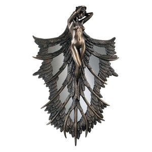 Angelic Wings of Nature Wall Sculpture
