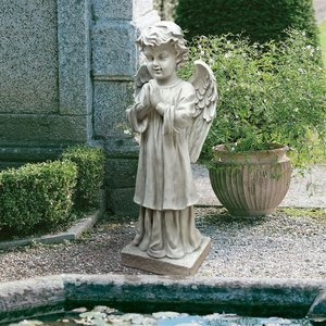 The Angel's Message Garden Statues