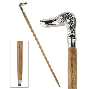 Animal Menagerie Chrome-Plated Walking Stick Collection: Duck