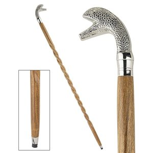 Animal Menagerie Chrome-Plated Walking Stick Collection: Snake