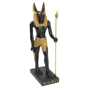 Anubis, God of the Egyptian Realm Statue