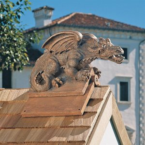 Apex Winged Dragon Roof Cresting