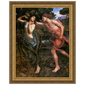 Apollo and Daphne, 1908: Canvas Replica Painting: Large
