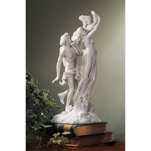 Apollo and Daphne Bonded Marble Resin Statue