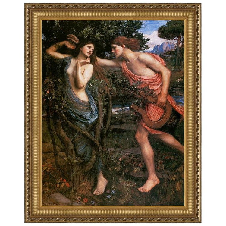 View larger image of Apollo and Daphne, 1908: Canvas Replica Painting