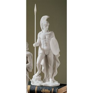 Ares Classical Greek God Bonded Marble Statue