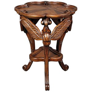 Art Nouveau Galle Dragonfly Occasional Table