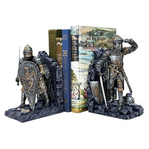 Arthurian Knight Bookends
