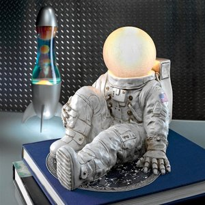 Astronaut at Ease Lighted Sculpture