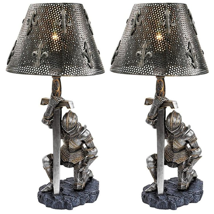 View larger image of At Battle's End Sculptural Lamp