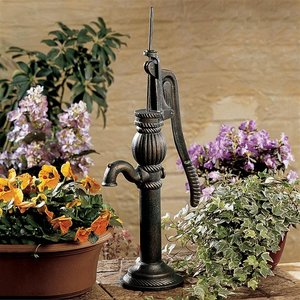 Authentic Iron Cottage Water Pump