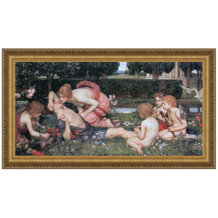View larger image of The Awakening of Adonis, 1900: Canvas Replica Painting