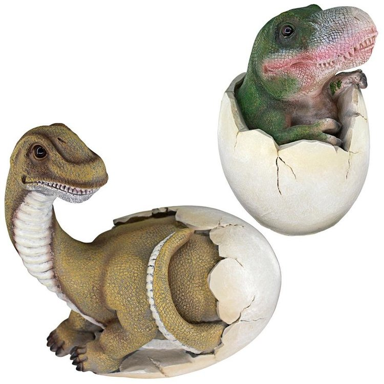 View larger image of Baby Dinosaur Egg Hatchling Statues