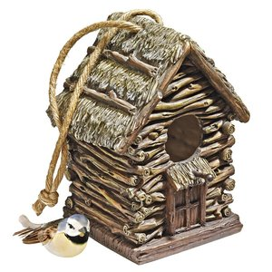 Backwoods Bird House Collection: Cottage