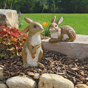 Bashful and Hopper Garden Bunnies Collection: Set of Two