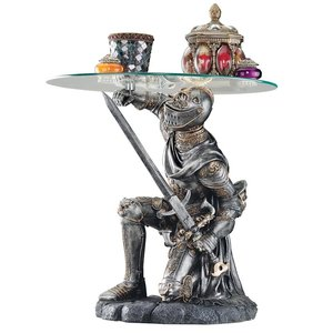 Battle-Worthy Knight Sculptural Table