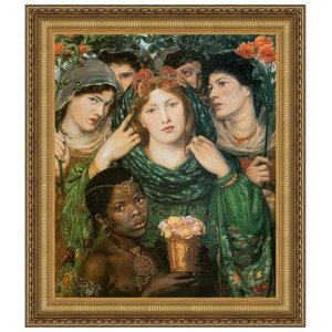 The Beloved (The Bride), 1866: Canvas Replica Painting: Small