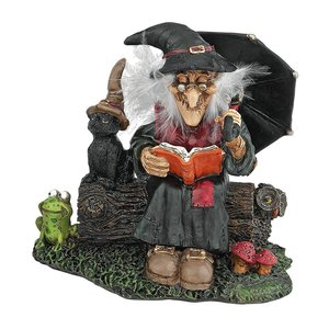 Bewitching Witches Statue: Book of Spells