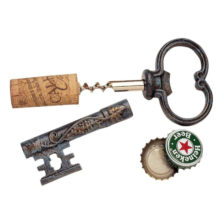 View larger image of The Bishop's Church Key Corkscrew and Bottle Opener