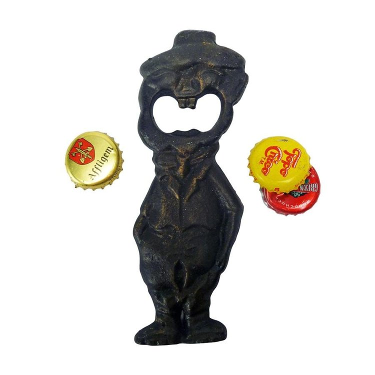 View larger image of Blabber Mouth Cast Iron Bottle Opener