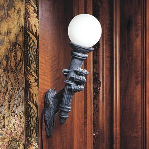 Blackfriar's Gate Wall Sconce Torchiere Lamp