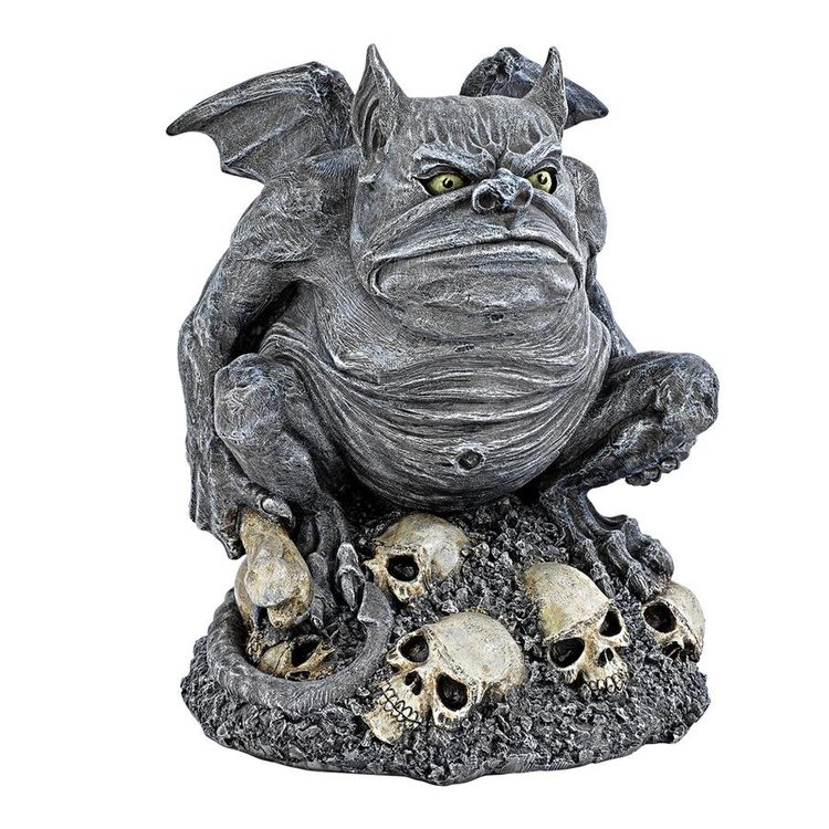 View larger image of Bone Chiller the Troll Gargoyle Statue