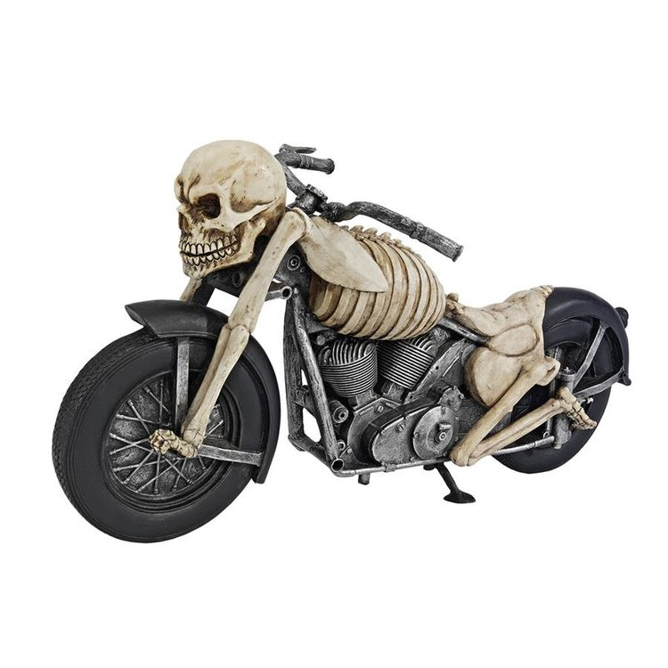 View larger image of Bone Chillin' Skeleton Motorcycle Statue