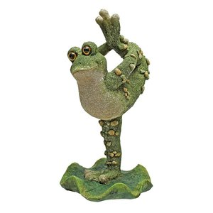 Boogie Down, Dancing Frog Statues: Leg Up
