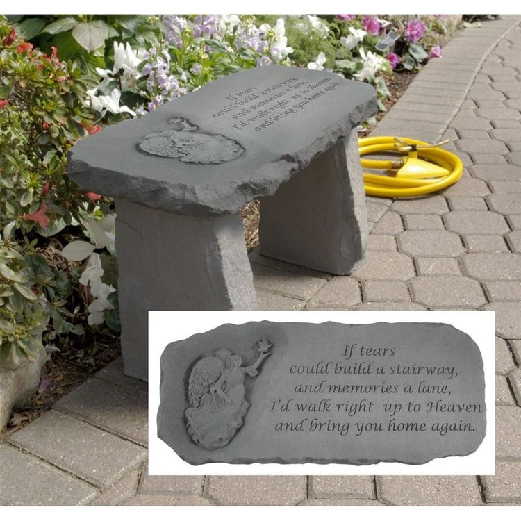 View larger image of Bring You Home Memorial Garden Bench