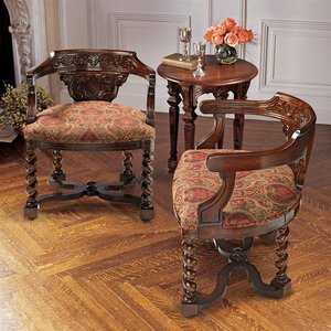 Brussels Library Bergere Chairs