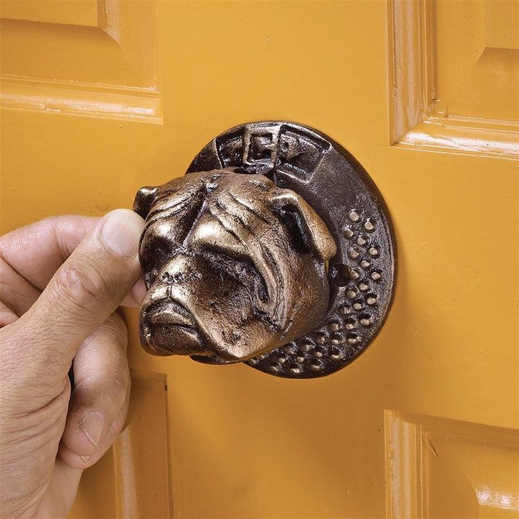 View larger image of Bulldog Authentic Foundry Iron Door Knocker