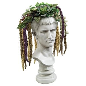 Bust Planters of Antiquity Statues: Emperor Caligula